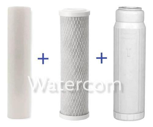 Imagen 1 de 4 de Repuesto Filtro Triple Sarro, Cloro Y Sedimentos