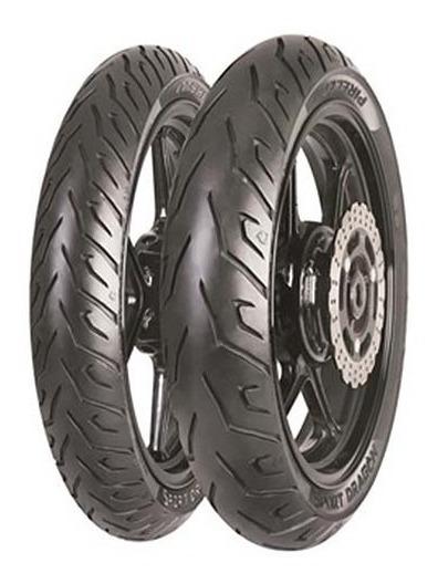 Par Pneu De Moto 130/70 17 E 100/80 17 Pirelli Sport Dragon