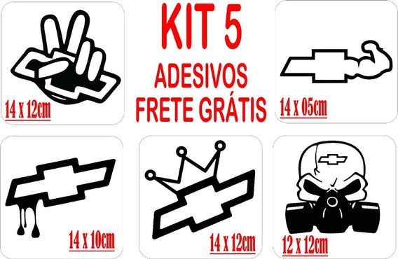 Kit 5 Adesivos Automotivo Fiat Frete Grátis