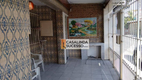 Casa Com 2 Dormitórios À Venda, 140 M² Por R$ 530.000,00 - Vila Carrão - São Paulo/sp - Ca6161