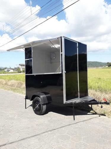 Imagem 1 de 10 de Trailer De Lanche (food Truck) 0 Km