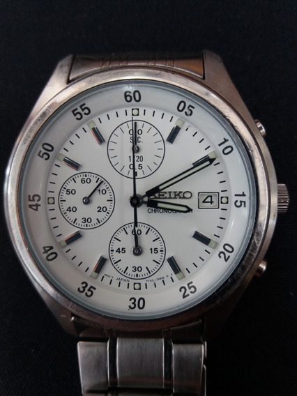 Relógio De Pulso Seiko Cronógrafo