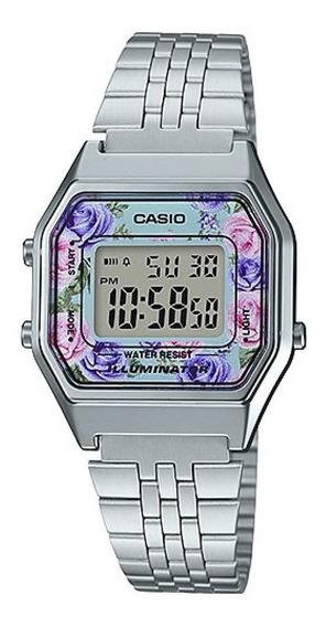 Relógio Casio Digital Mini Feminino La680wa 4cdf Original Nf
