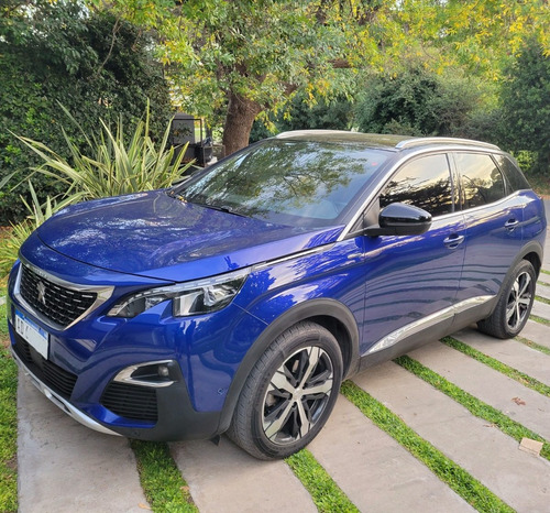 Peugeot 3008 2019 Gt Line Azul 45000km 1er Dueño Tiptronic