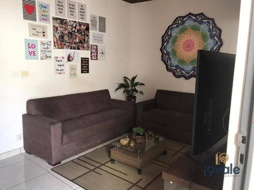 Casa Com 3 Dormitórios À Venda, 150 M² Por R$ 450.000,00 - Centro - Jacareí/sp - Ca2045