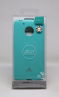 Funda Motorola G5(normal) Mercury Goospery Jelly Case Menta