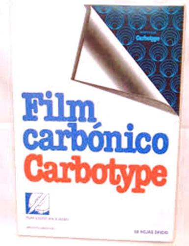 Papel Carbonico Carbotype X 50 Negro Ultrafilm 1º Calidad