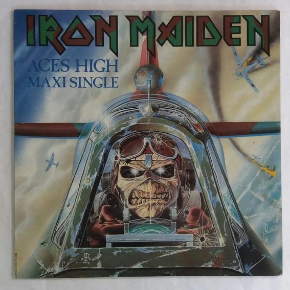 Lp - Iron Maiden - Aces High - Maxi Single - 1985 Emi
