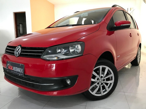 Volkswagen Spacefox 1.6 Trend Único Dono 2013 Vermelho