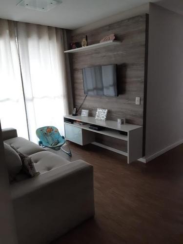 Apartamento Em Alto Do Pari, São Paulo/sp De 55m² 2 Quartos À Venda Por R$ 450.000,00 - Ap898356