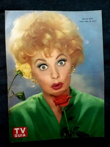 Lucille Ball. Show De Lucy Poster Lámina Revista Tv Guía