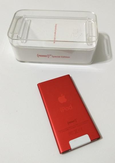 iPod Nano Red 7 16gb Vermelho Red Excelente Parcelado Vf4lp