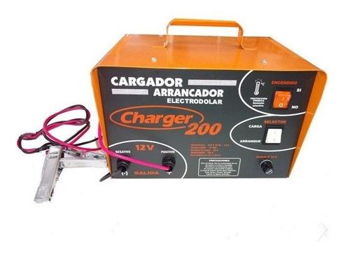 Cargador Arrancador De Baterias Charger 200 12 Volts + Envio
