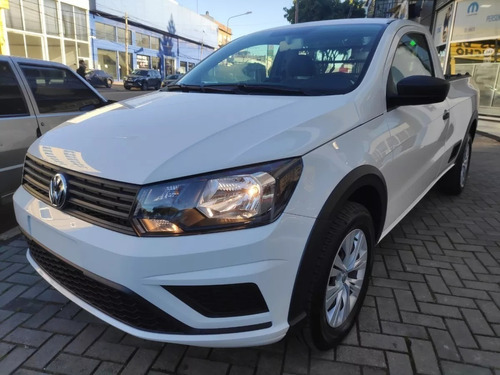 Volkswagen Saveiro 1.6 Cs Cabina Simple Trendline 2021 Vw 31