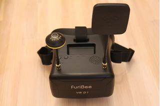 Drone Sistema Fpv Lentes Fpv Con Doble Antena