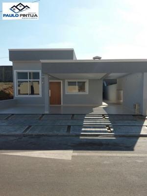 Casa Térrea Nova Com 3 Dormitórios (1 Suíte) No Condomínio Park Real - Ca04122 - 34104752