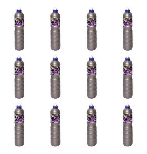 Azulim Limpa Aluminio Uva 500ml (kit C/12)
