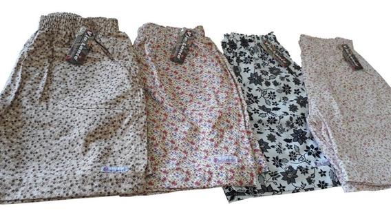 Kit 6 Shorts Feminino Plus Size Elástico Cintura Xg G1 G2 G3