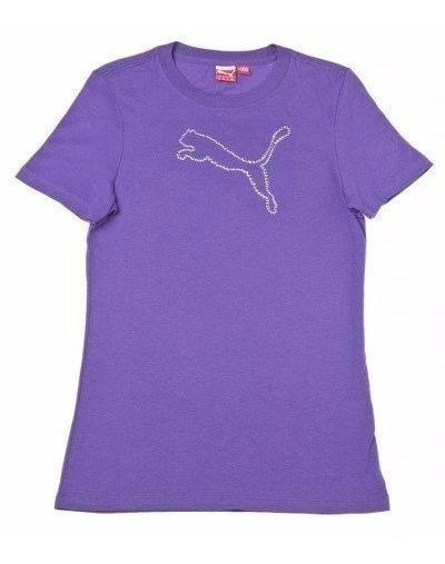 Camiseta Feminina Puma Infanto Juvenil Logotipo Refletivo