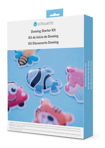 Imagen 1 de 1 de Doming Starter Kit De Resina Tipo Domo Silhouette