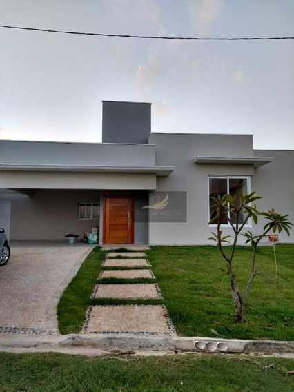 Casa Residencial À Venda, Condomínio Palmeiras Imperiais, Salto. - Ca0393