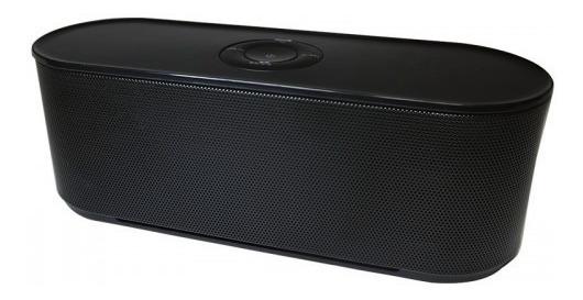 Caixa De Som Bluetooth Kimaster K127 10w Rms Preta Potente