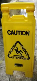 Advertencia Rotulo Plastico Precaucion Usado Cod6080 Asch