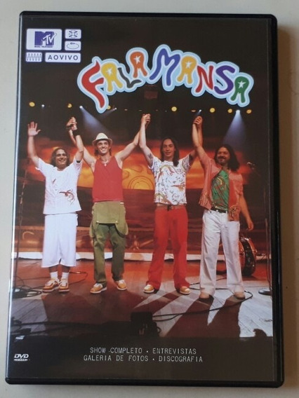 Dvd Falamansa - Mtv Ao Vivo - Original - Estado De Novo