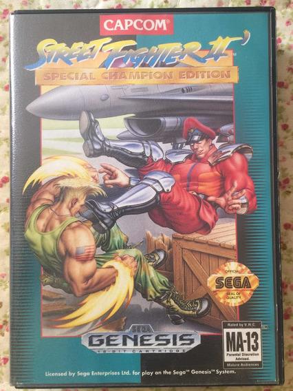 Cartucho Street Fighter 2 Mega Drive