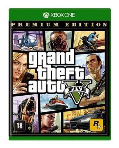 Gta 5 V Premium Edition Xbox One - Mídia Física