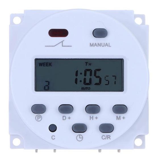 Temporizador Timer Programável Digital Dhm Cn101a Ac110v 16a