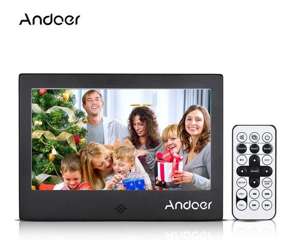 Andoer 7 &qu?led Digital Photo Nos Preto