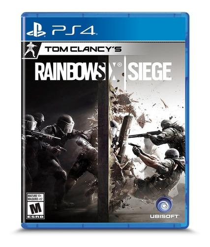 Imagen 1 de 6 de Tom Clancy's Rainbow Six Siege Ps4 Formato Fisico Original