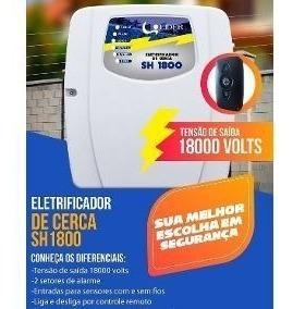 Central Choque Eletrificador E Alarme Com Controle