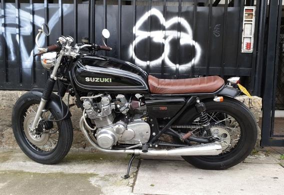 Suzuki Gs750 De 1978 4 Cilindros En Linea.