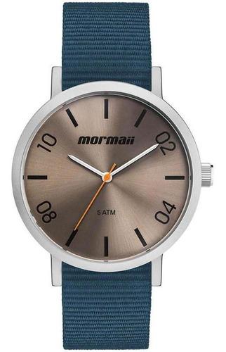 Relógio Mormaii Masculino Mo2035kb/0a Azul