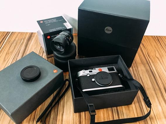 Leica M (type 240) Com Lente Leica 35mm Summarit F/2.4