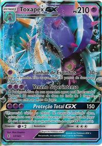 Toxapex Gx Em Português + 25 Cartas Comuns Português