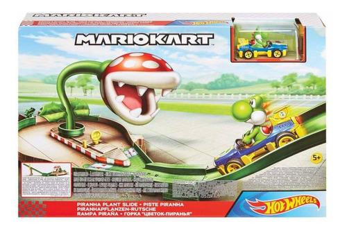 Mario Kart Rampa Piraña - Pista De CircuitoYoshi Incluido