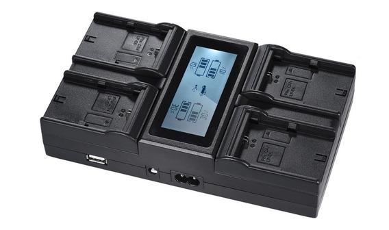 Andoer Lp -e6 Lp E6n - Carregador Bateria Câmera Digital 4 C