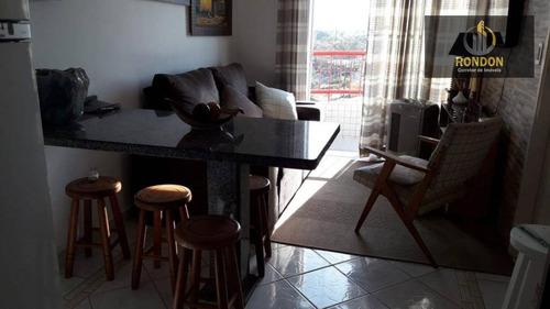 Imagem 1 de 17 de Apartamento Com 2 Dormitórios À Venda, 40 M² Por R$ 159.000 - Campos Elíseos - Itanhaém/sp - Ap0021