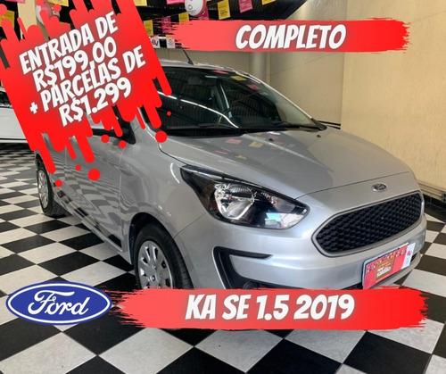 Imagem 1 de 11 de Ford Ka Se 1.5 Prata 2018/2019 Flex Mec
