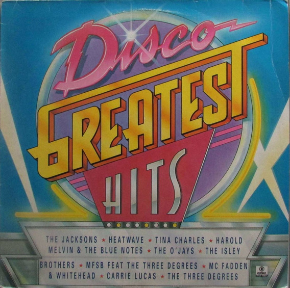 Lp Disco Greatest Hits - 1993 - Columbia
