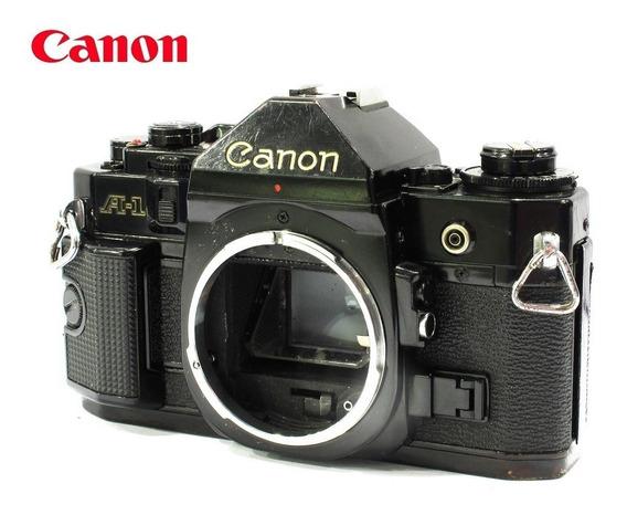 Câmera Canon Fd A-1 Black Reflex 35mm - Corpo Usada
