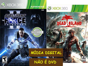 Star Wars The Force Unleashed E Dead Island Xbox 360 Digital