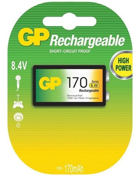 Bateria Recarregável 8.4v 170mah Gp Batteries
