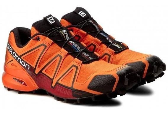 Tênis Salomon Original Speedcross 4 Masculino Laranja