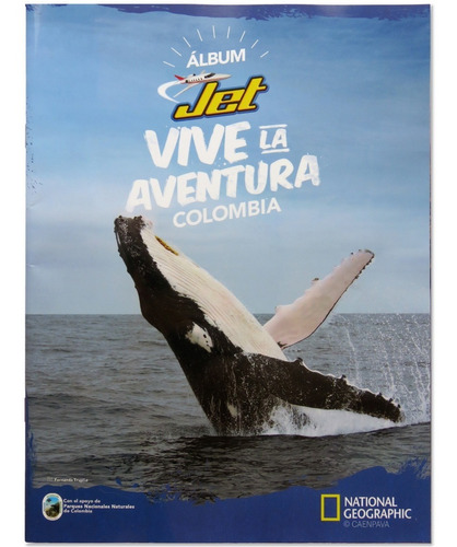 Imagen 1 de 6 de Álbum Jet Vive La Aventura Colombia Nuevo