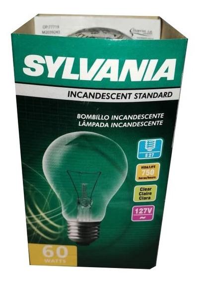 Bombillo Claro Incandescente Sylvania 60w 100 Unidades