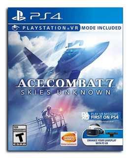 Juego Ace Combat 7 Skies Unknown Playstation 4